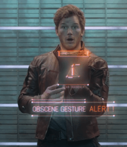 star-lord-finger