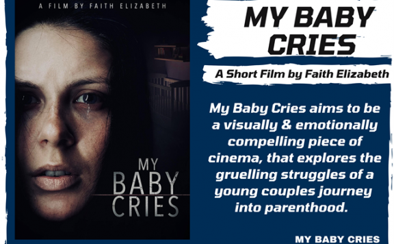 """Psychological Thriller/Horror """"My Baby Cries"""" raises over £1,000 on Day 2 of launch"""