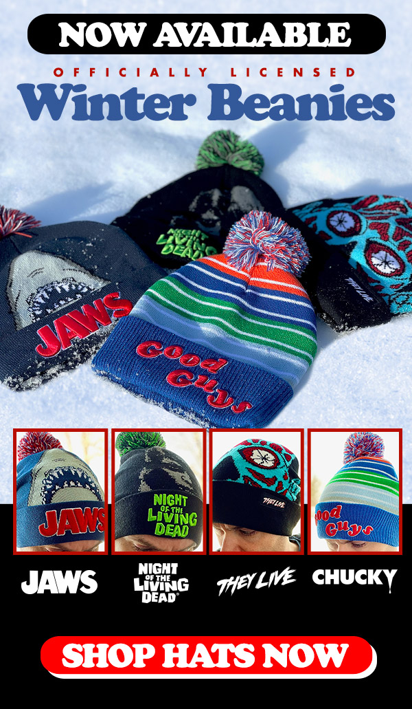 Horror Winter Beanies NOW AVAILABLE!
