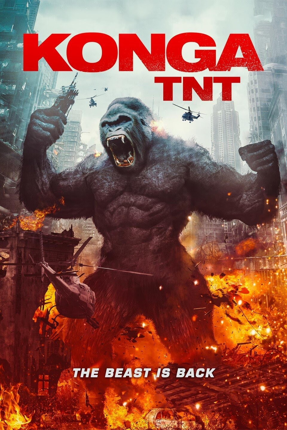 Giant Gorilla Rampage In KONGA TNT – Now Out On DVD!!