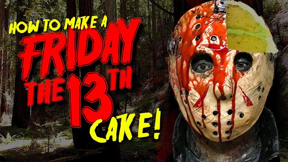 Jason Voorhees cake is both terrifying… AND DELICIOUS!!!