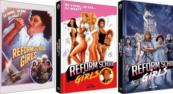 Doing Hard Time with REFORM SCHOOL GIRLS – Blu-Ray/DVD Mediabook Review